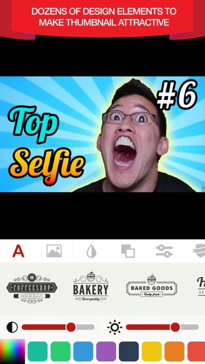 Thumbnail Maker & Banner Maker screenshot-3