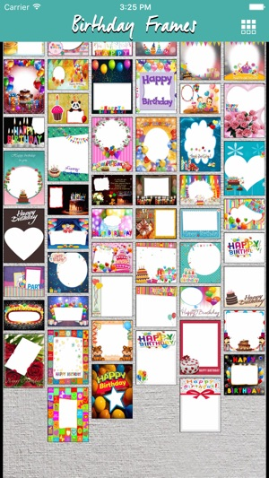 Birthday Photo Frames Picture Frames Effects On The App Store