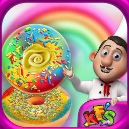 Rainbow Donuts Makers – Baking Chef