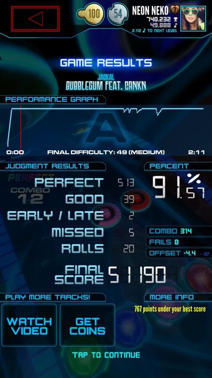 Neon FM™ — Music Gaming | Arcade Rhythm Game screenshot-3