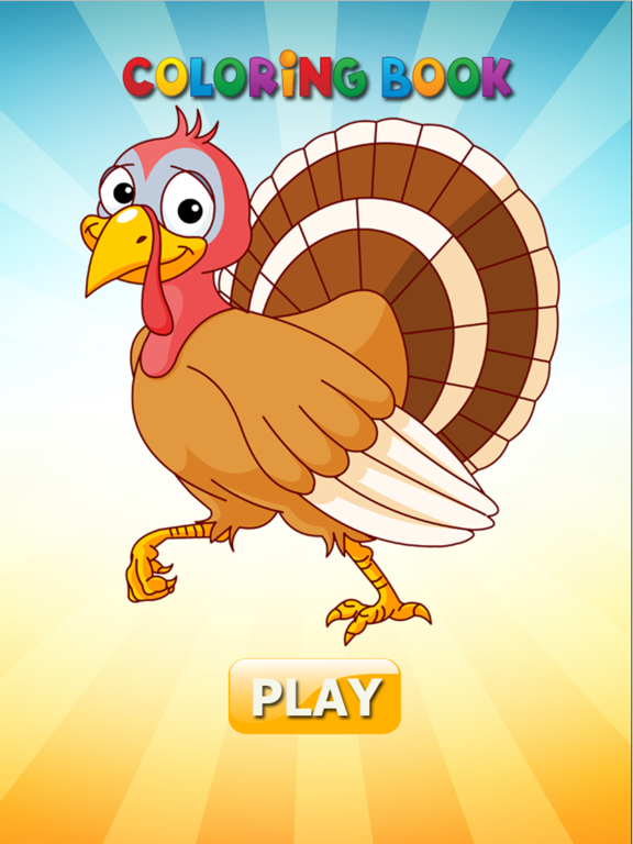 Turkey & Chicken Evolution - Coloring book for me | App ...