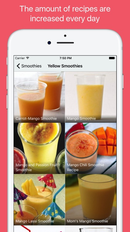 Smoothie Recipes - Healthy and Detox drinks screenshot-3
