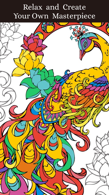 Animal Coloring Pages: Coloring Book for Adults
