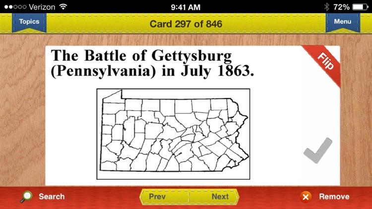 AP US & World History Prep Flashcards Exambusters screenshot-4