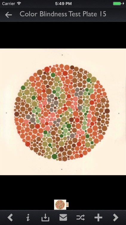 Color Blindness Test Info