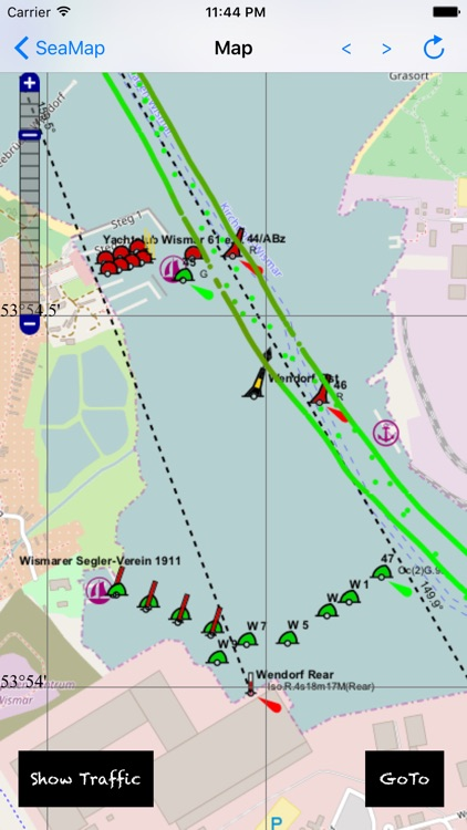 NavigationMap: World coverage with navigation aids