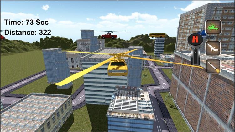 Real Flying Car Jet : Futuristic Racing Moto screenshot-3