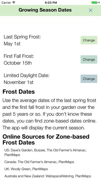 Skippy's Vegetable Calendar screenshot-3
