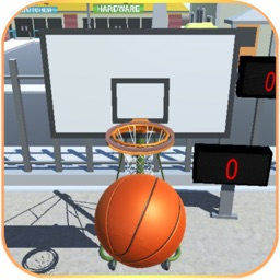 Shoot Hoops Basketball Game