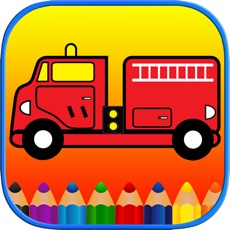 Activities of Kids Coloring Pages - Toddler Cars Transportation