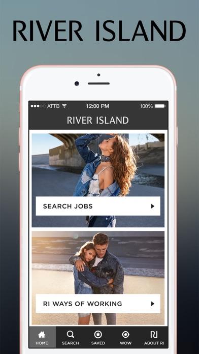 River Island Careers screenshot one