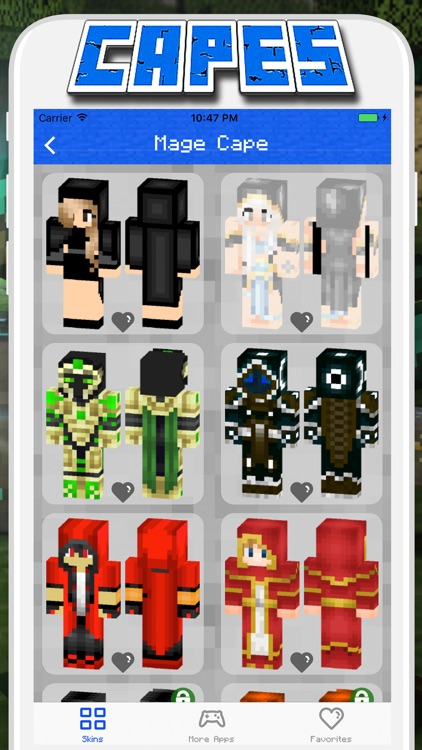 Cape Skins for Minecraft PE - Pocket Edition