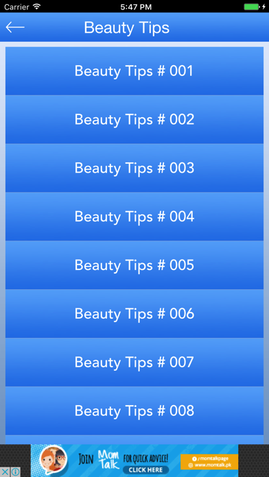 Beauty Tips - For Girls screenshot three