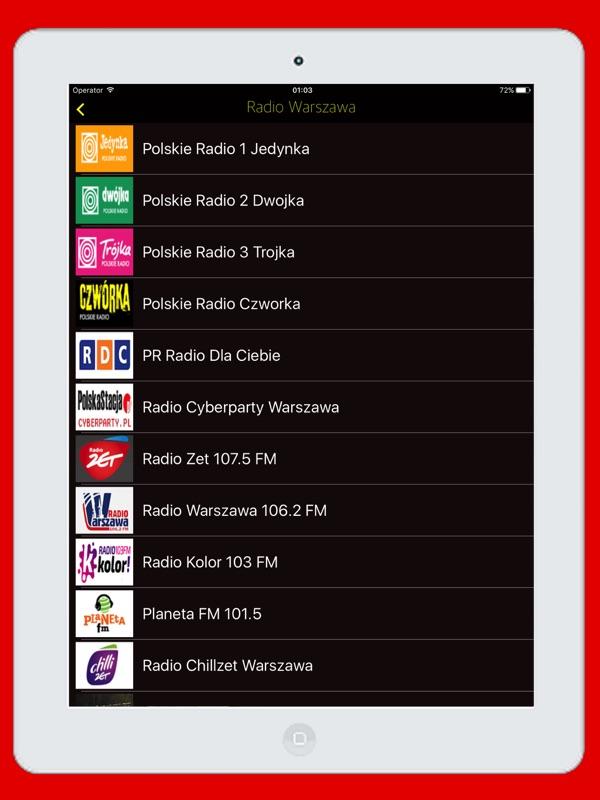 Radios Polska FM - Radio Poland Online Stations PL - Online