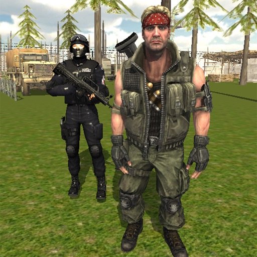 Commando Behind EnemyLines Sniper Combat Blackouts iOS App