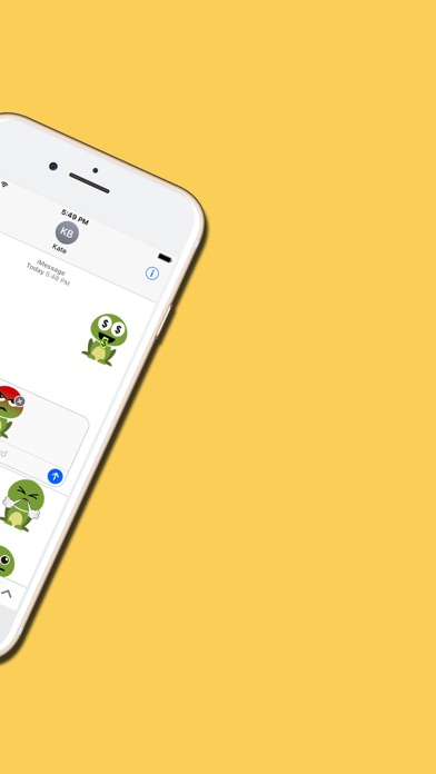 Crazy Frog : Emojis & Stickersのスクリーンショット5