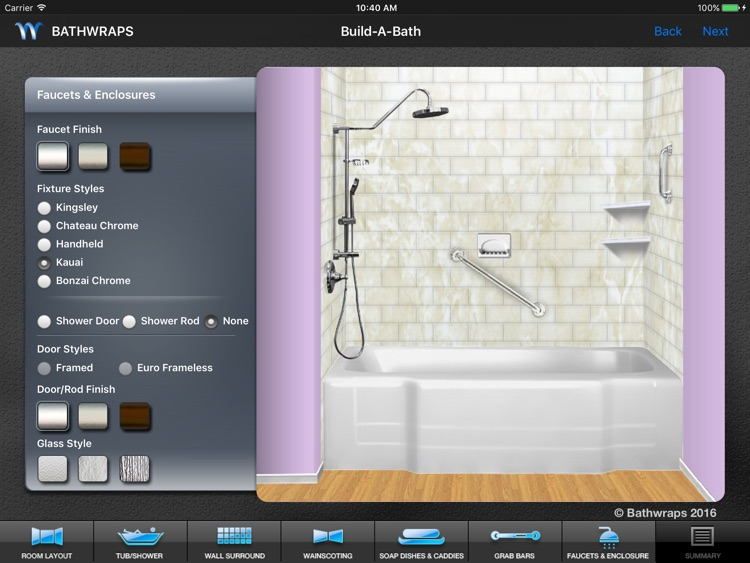 BathWraps Build-A-Bath screenshot-4
