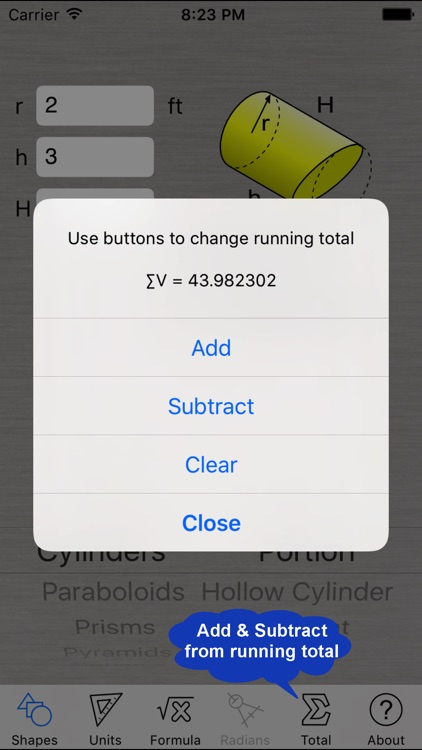 Volume Calculator screenshot-3