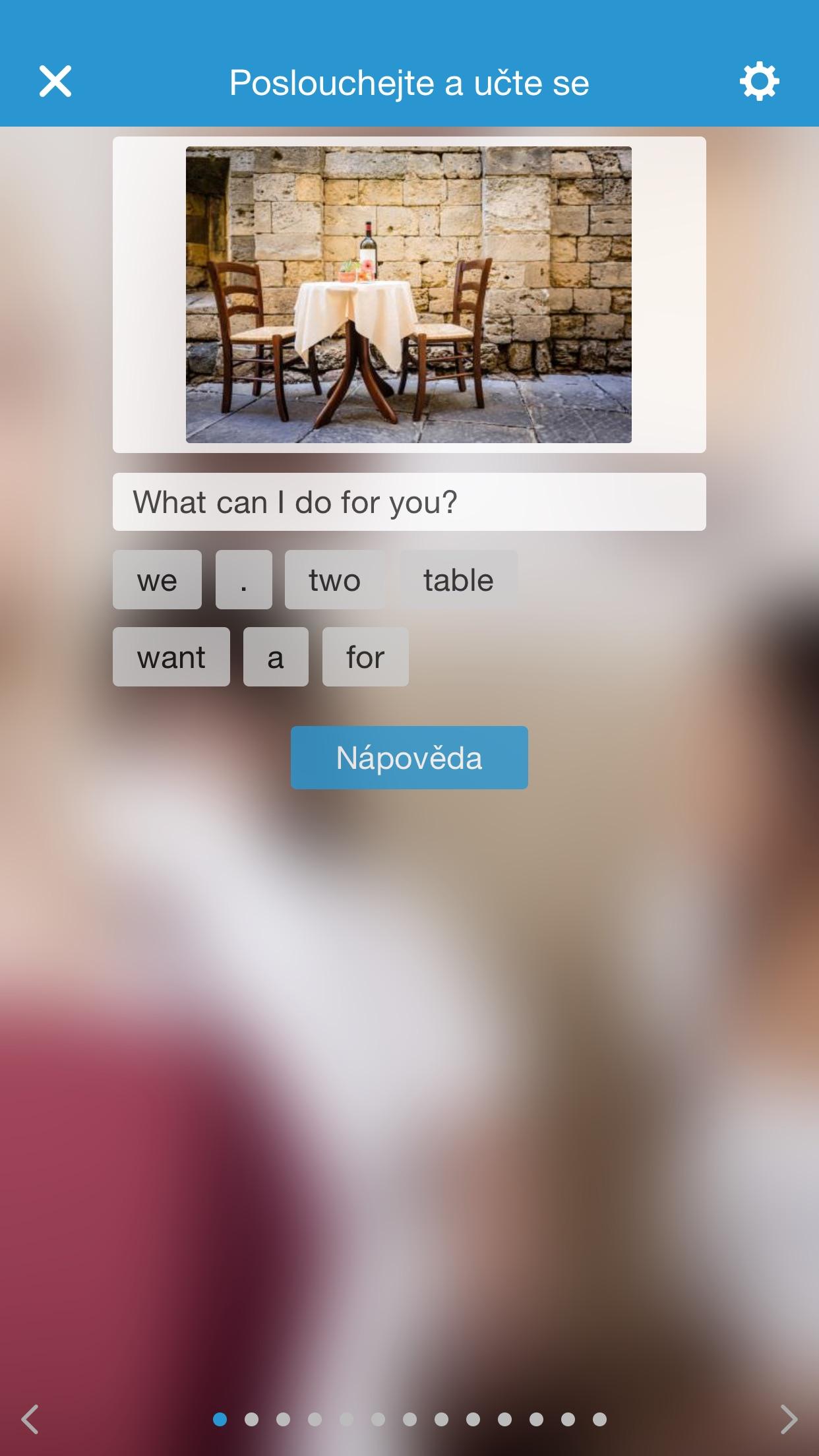 Anglická konverzácia - jazykový kurz angličtiny Screenshot