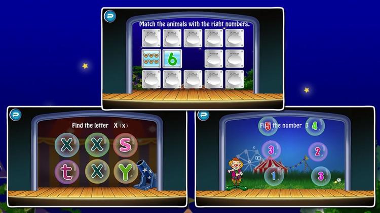 ABC Circus-Alphabet & Number Games for kids screenshot-3
