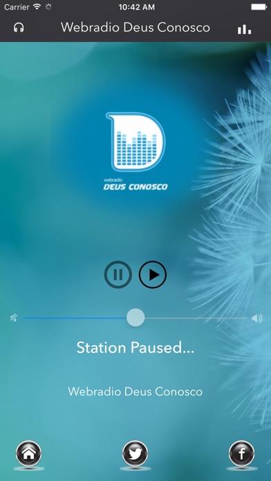 Webradio Deus Conosco screenshot