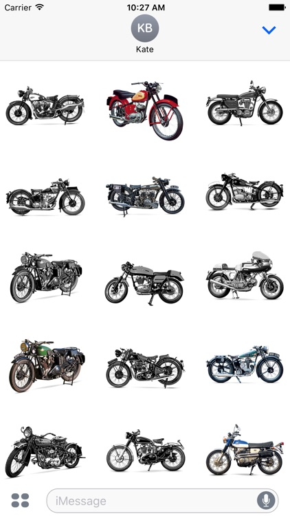 Classic Motorcycle Stickers screenshot-2