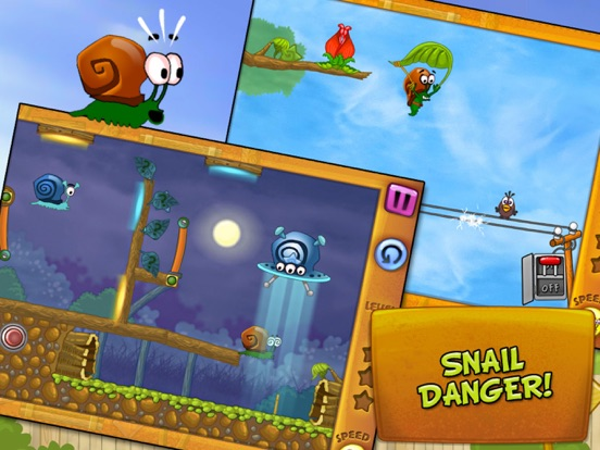 Игра Snail Bob (Улитка Боб)