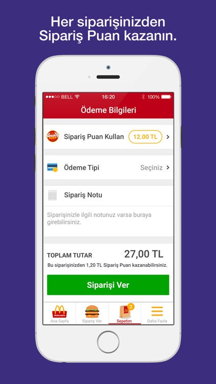 McDonald's - Mobil Sipariş screenshot-3