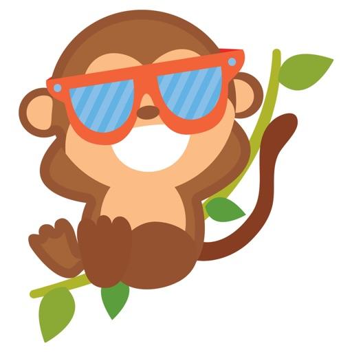 Mokei - Best Monkey Stickers 2017