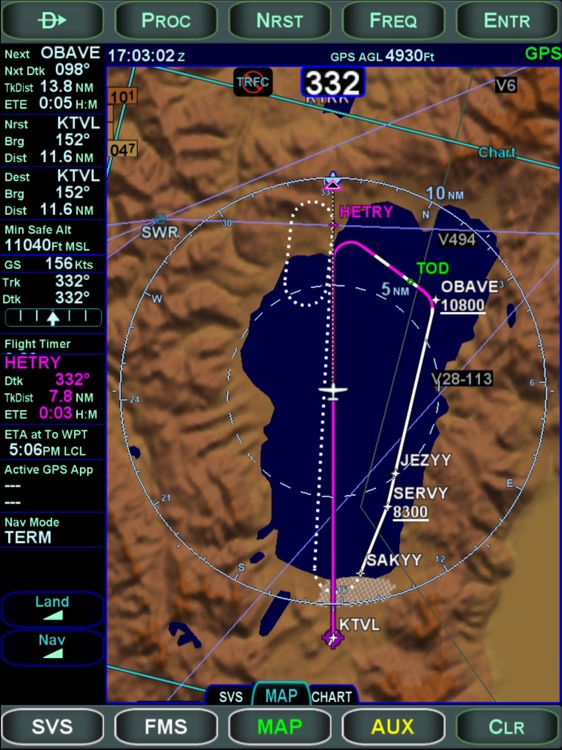 Avidyne IFD100 screenshot-2