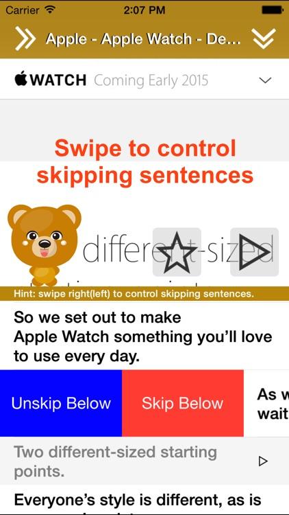 Translate 3 for Safari (Translate & Speak Web) screenshot-3