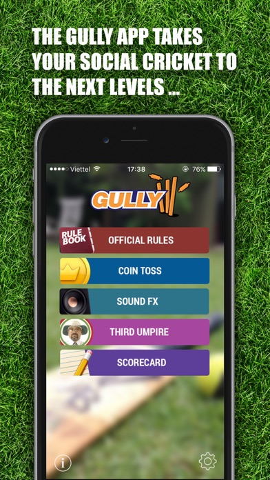 Gully – The ultimate social cricket companion screenshot one