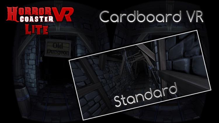 Horror Roller Coaster VR Lite