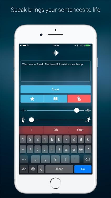Speak - Text To Speech