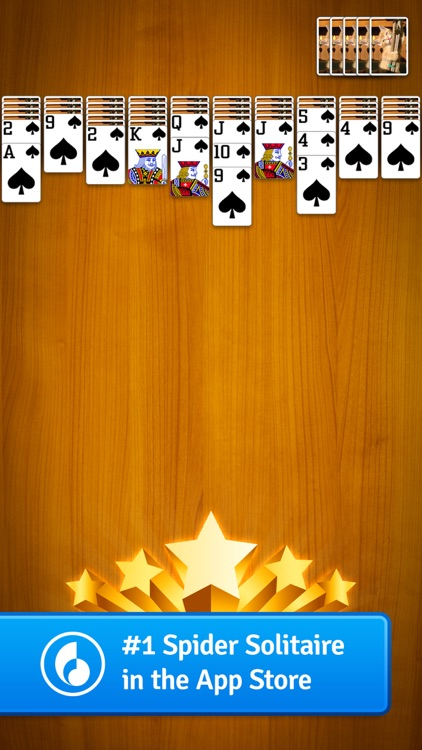 Spider Solitaire by MobilityWare screenshot-4
