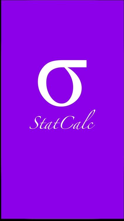 StatCalc - A Handy Statistics Course Assistant