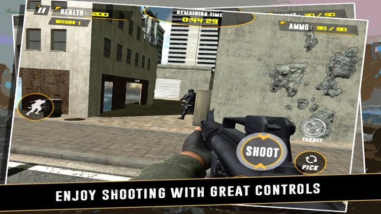 Commando - Shooting Game screenshot-3
