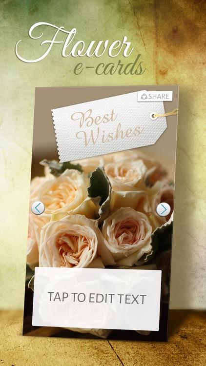 Flower e-Cards - Virtual Greeting Card Maker