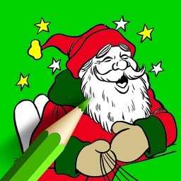 Christmas Colouring Book - Xmas Pictures to Color