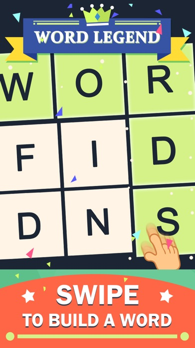 Word Legend-Attention Exercise Screenshot