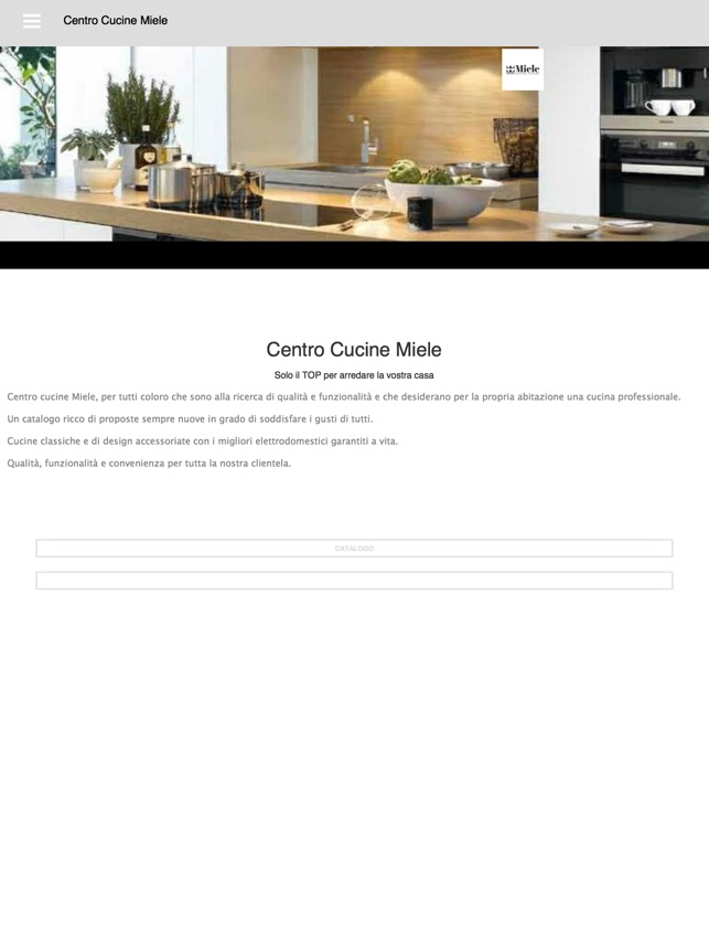 Centro Cucine Miele on the App Store