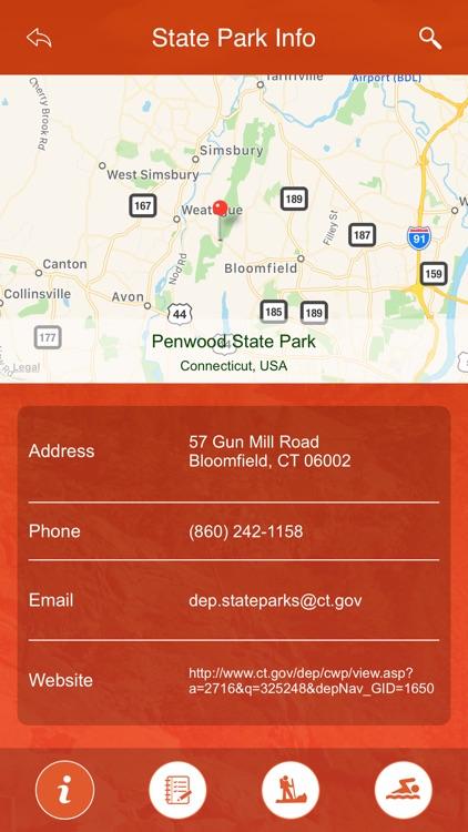 Connecticut State Parks & Trails screenshot-3