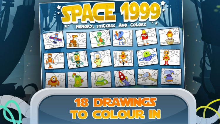 Space: Toddler Games, Free Learning 4 kids & boys screenshot-1