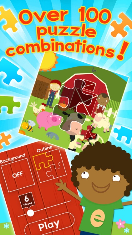 Farm Games Animal Games for Kids Puzzles Free Apps screenshot-4