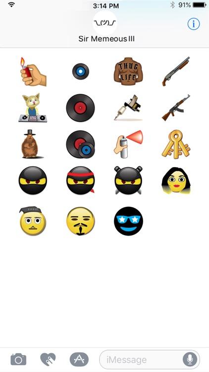 Memes & Things by Emoji Fame screenshot-4