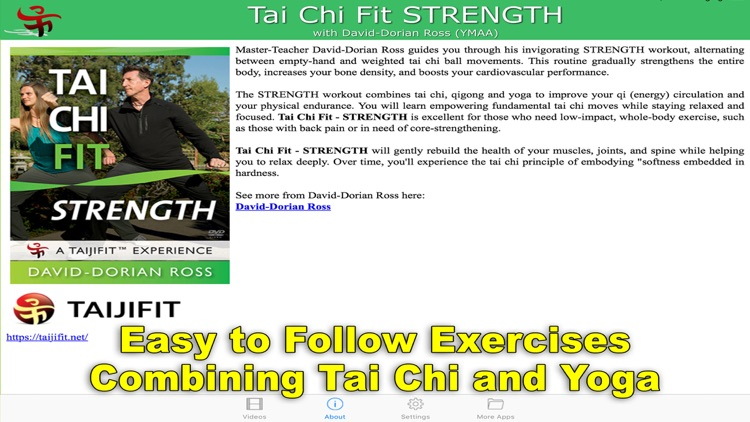 Tai Chi Fit STRENGTH