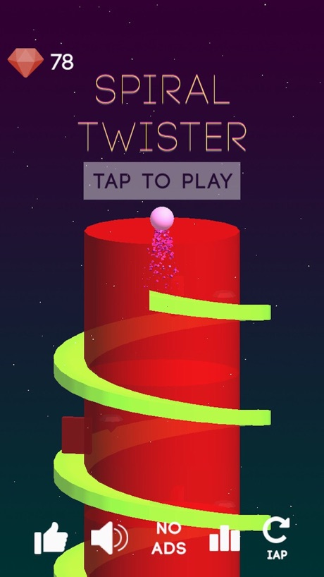 Super Spiral Tower – Rolling Swirly castle