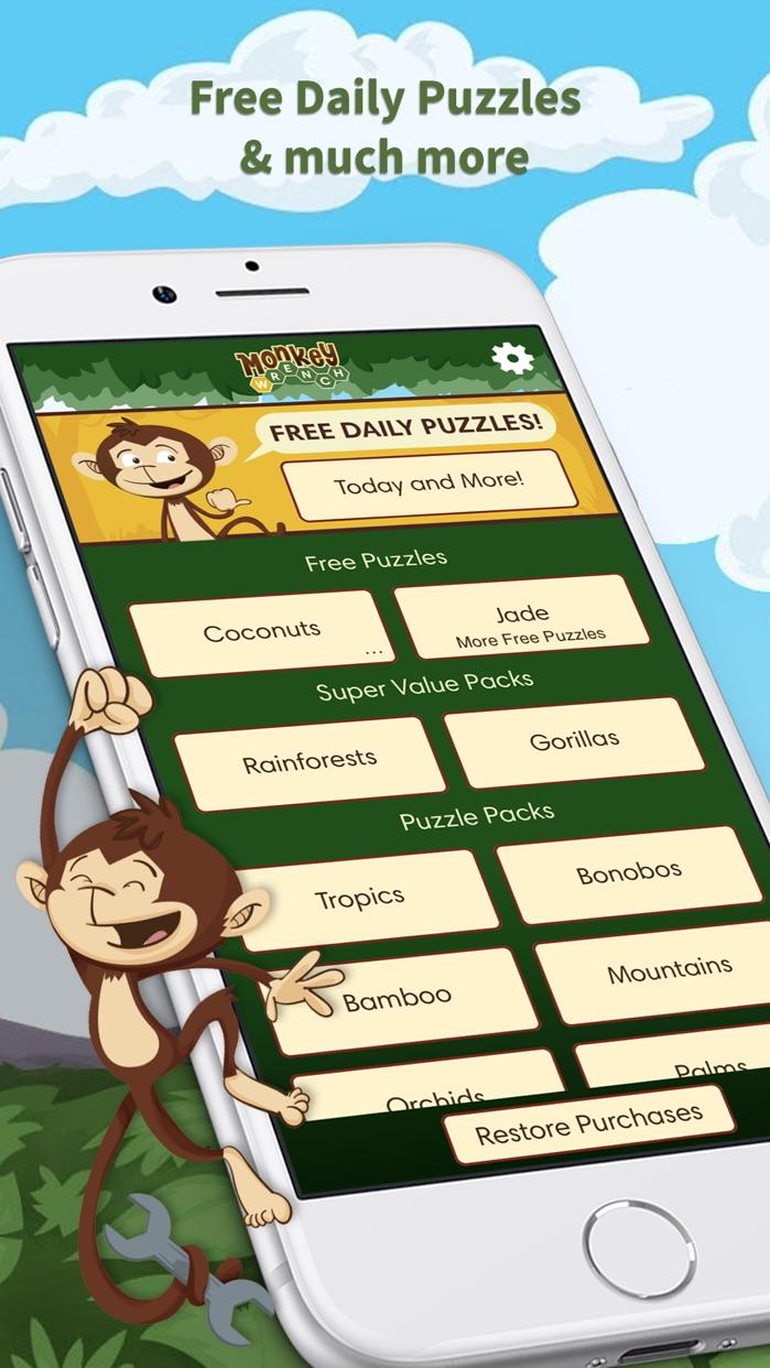 Monkey Wrench - Word Search Screenshot
