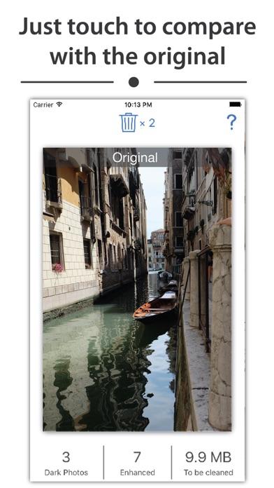 Enhancy - auto fix dark photos app image
