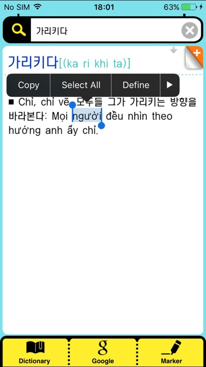 DioDict3 VIE–KOR Dictionary screenshot-2